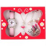 Ravel Children's 'Little Gems' Watch and Silver Plated Jewellery Set 20