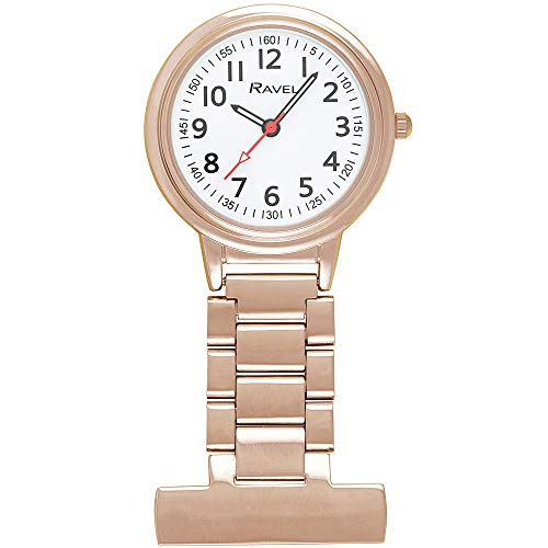 Ravel - Classic Easy Read Nurses Fob Watch 1