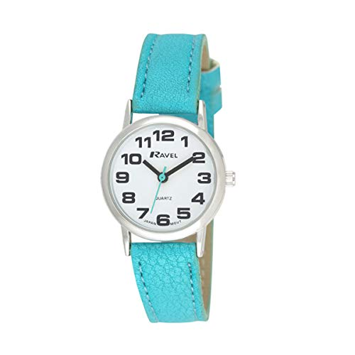 Ravel Unisex Easy Read Watch with Big Numbers 1
