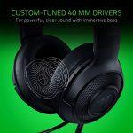 Razer Kraken X Gaming Headset - 7.1 Surround Sound - Ultra-light - Classic Black 23
