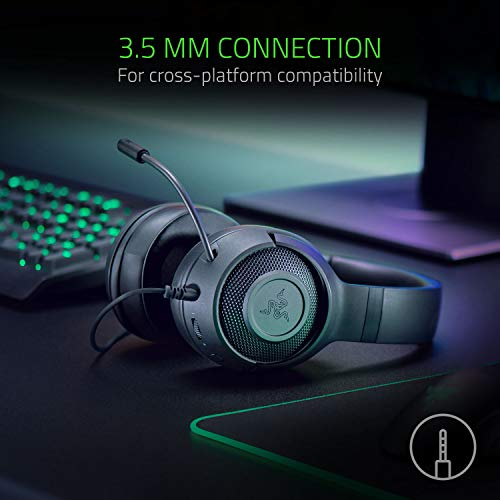 Razer Kraken X Gaming Headset - 7.1 Surround Sound - Ultra-light - Classic Black 10
