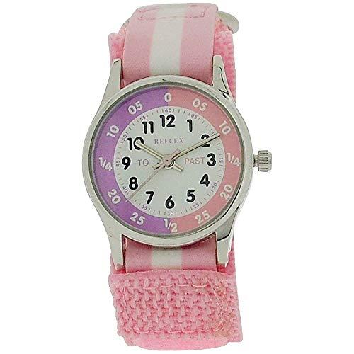 Reflex Girls Analogue Classic Quartz Watch with Textile Strap REFK0005 5