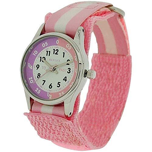 Reflex Girls Analogue Classic Quartz Watch with Textile Strap REFK0005 1