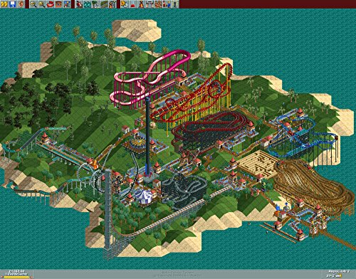 RollerCoaster Tycoon 9 Mega Pack (PC DVD) 4