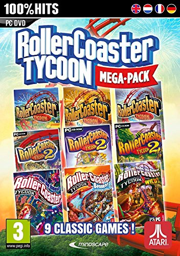 RollerCoaster Tycoon 9 Mega Pack (PC DVD) 1