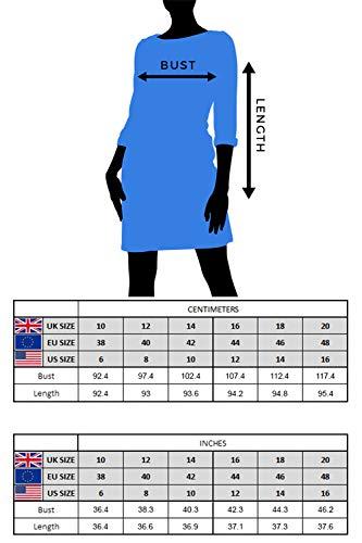 Roman Originals Women Check Shift Dress - Ladies Checkered Tartan Plaid Print Winter Smart Work Office Casual Formal… 4