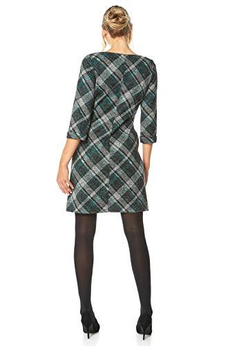 Roman Originals Women Check Shift Dress - Ladies Checkered Tartan Plaid Print Winter Smart Work Office Casual Formal… 5