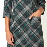 Roman Originals Women Check Shift Dress - Ladies Checkered Tartan Plaid Print Winter Smart Work Office Casual Formal… 22