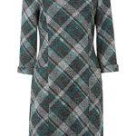 Roman Originals Women Check Shift Dress - Ladies Checkered Tartan Plaid Print Winter Smart Work Office Casual Formal… 23