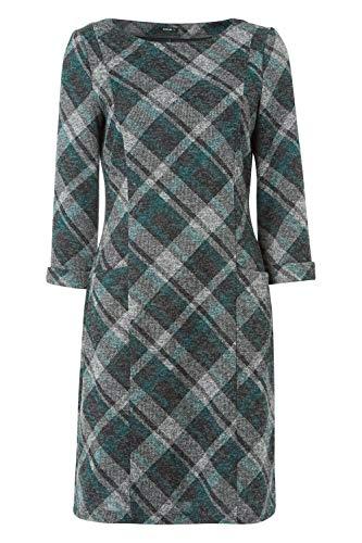 Roman Originals Women Check Shift Dress - Ladies Checkered Tartan Plaid Print Winter Smart Work Office Casual Formal… 8