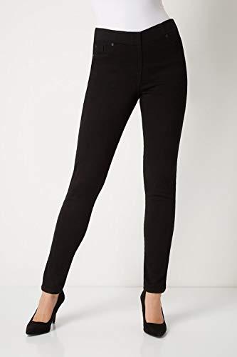 Roman Originals Women Jeggings Denim Jean Legging Ladies Stretch Cotton Trouser Smart Casual High Waisted Rise Pull On… 3