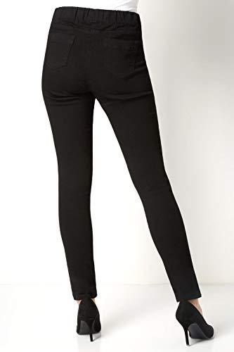 Roman Originals Women Jeggings Denim Jean Legging Ladies Stretch Cotton Trouser Smart Casual High Waisted Rise Pull On… 6