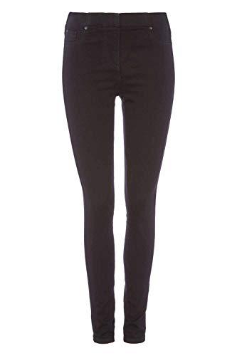 Roman Originals Women Jeggings Denim Jean Legging Ladies Stretch Cotton Trouser Smart Casual High Waisted Rise Pull On… 8