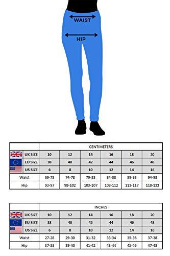 Roman Originals Women Jeggings Denim Jean Legging Ladies Stretch Cotton Trouser Smart Casual High Waisted Rise Pull On… 9