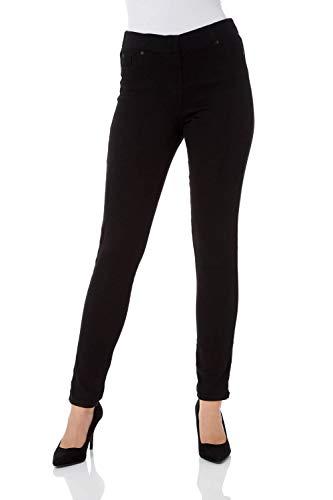 Roman Originals Women Jeggings Denim Jean Legging Ladies Stretch Cotton Trouser Smart Casual High Waisted Rise Pull On… 1