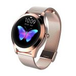 Round IP68 Waterproof Touchscreen Smart Watch for Women, Smart Watch KW10, Fitness Tracker with Heart Rate and Sleep… 18