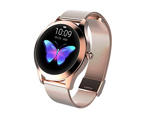 Round IP68 Waterproof Touchscreen Smart Watch for Women, Smart Watch KW10, Fitness Tracker with Heart Rate and Sleep… 7