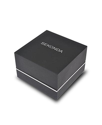 SEKONDA Womens Analogue Classic Quartz Watch with Silver Strap 2528G.68 6