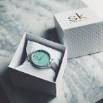 SHENGKE Creative Simplicity Women Watch Genuine Leather Elegant Women Watches Ladies Business Wristwatch 22