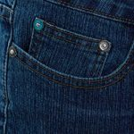 SS7 Womens Mid Blue Relaxed Fit Flared Denim Jeans 17