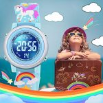SUPZOE 3D Cartoon Waterproof Kids Watches for Girls with Alarm - Best Toys Gifts for Girls Age 3-10 20