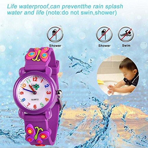 SUPZOE for Kids 3D Lovely Cartoon Waterproof Watch - Best Gifts 6