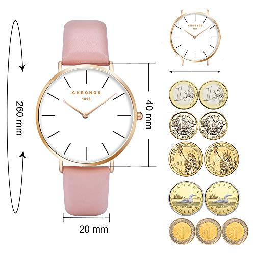 Classic Watches for Women and Men Fashion Quartz Wrist Watches 3