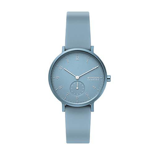 Skagen Quartz Watch with Silicone Strap 1
