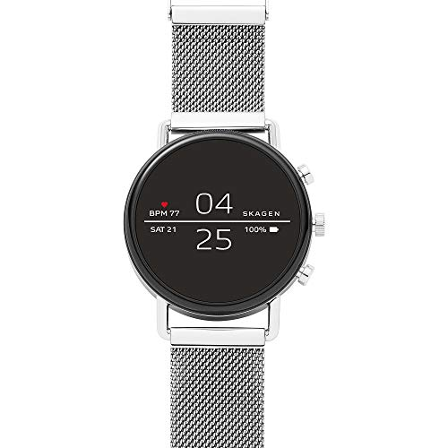 Skagen Smartwatch with Touchscreen, Wear OS by Google, Heart-Rate Tracking, Smartphone Notifications and More 1