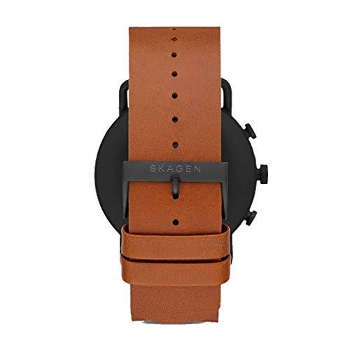 Skagen Men's Digital Touchscreen Watch with Leather Strap SKT5201 5