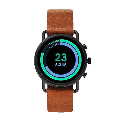 Skagen Men's Digital Touchscreen Watch with Leather Strap SKT5201 7