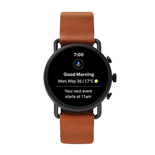 Skagen Men's Digital Touchscreen Watch with Leather Strap SKT5201 8