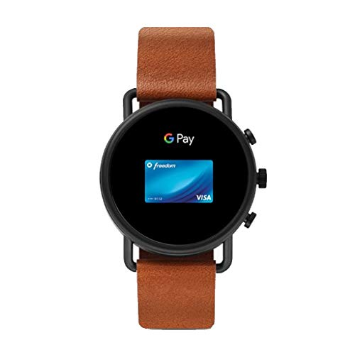 Skagen Men's Digital Touchscreen Watch with Leather Strap SKT5201 10