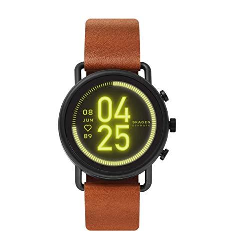 Skagen Men's Digital Touchscreen Watch with Leather Strap SKT5201 1