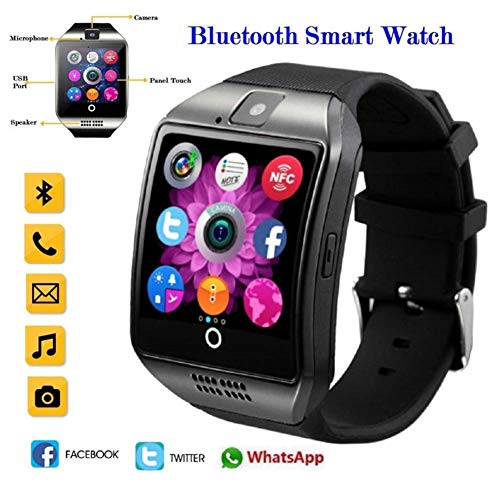 Smart Watch with Camera Bluetooth Smartwatch SIM TF Card Slot Fitness Activity Following Sport Watch for Android 3