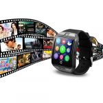 Smart Watch with Camera Bluetooth Smartwatch SIM TF Card Slot Fitness Activity Following Sport Watch for Android 29