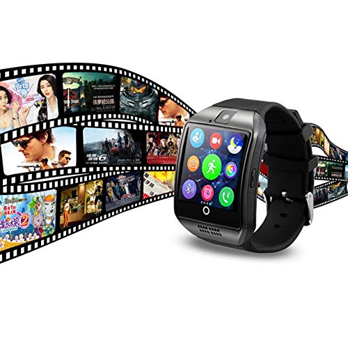 Smart Watch with Camera Bluetooth Smartwatch SIM TF Card Slot Fitness Activity Following Sport Watch for Android 10