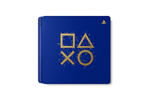 """Sony PlayStation 4 500GB Console - Limited Edition Blue """"Days of Play"""" 3"""