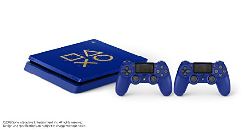 """Sony PlayStation 4 500GB Console - Limited Edition Blue """"Days of Play"""" 4"""