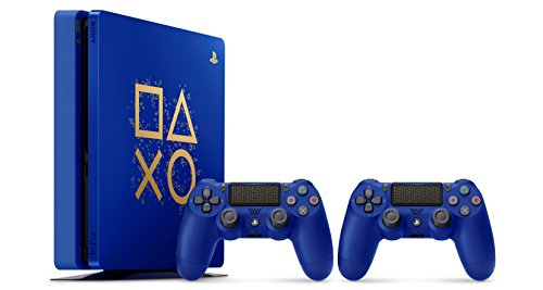 """Sony PlayStation 4 500GB Console - Limited Edition Blue """"Days of Play"""" 1"""