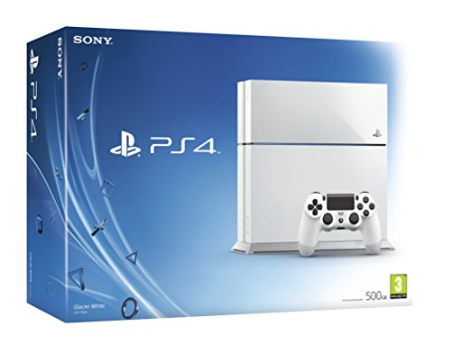 Sony PlayStation 4 Console (White) 1