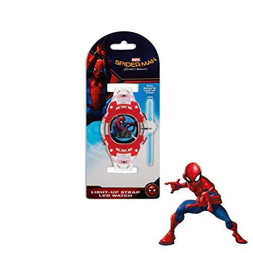 Spiderman Boys Digital Watch with PU Strap SMH4000 5