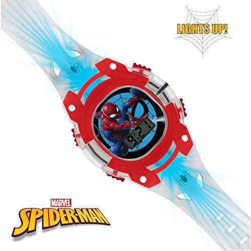 Spiderman Boys Digital Watch with PU Strap SMH4000 6