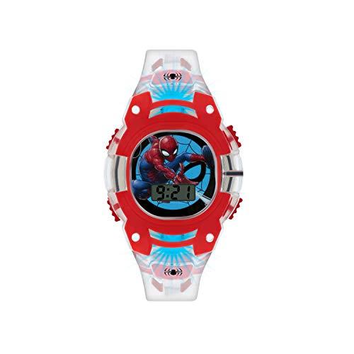 Spiderman Boys Digital Watch with PU Strap SMH4000 1