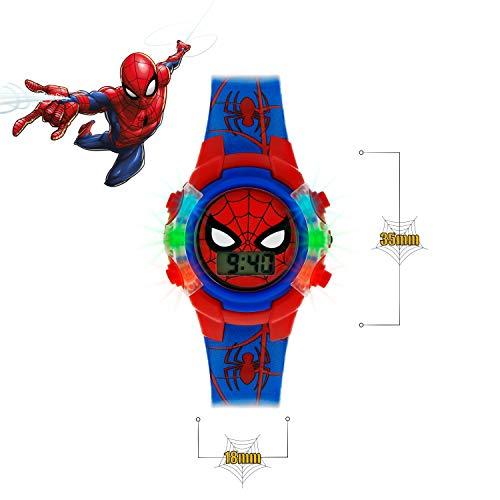 Spiderman Boys Digital Watch with PU Strap SPD4504 4