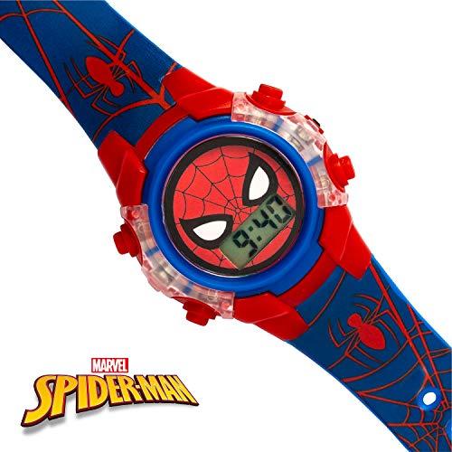 Spiderman Boys Digital Watch with PU Strap SPD4504 5