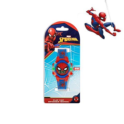Spiderman Boys Digital Watch with PU Strap SPD4504 6