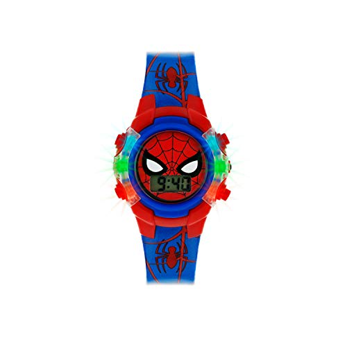 Spiderman Boys Digital Watch with PU Strap SPD4504 1