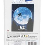 Spin Master Games E.T. the Extra-Terrestrial Movie 500-Piece Puzzle in Plastic Retro Blockbuster VHS Video Case 12