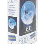 Spin Master Games E.T. the Extra-Terrestrial Movie 500-Piece Puzzle in Plastic Retro Blockbuster VHS Video Case 13